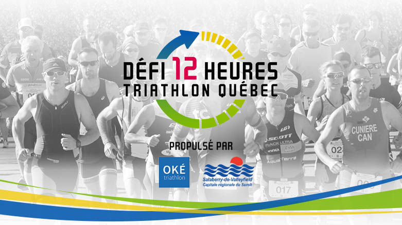 D fi 12 heures triathlon qu bec for Club piscine valleyfield qc