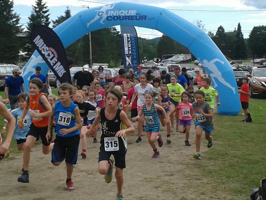 Une course en sentier de 1 kilomètre était ouverte aux enfants