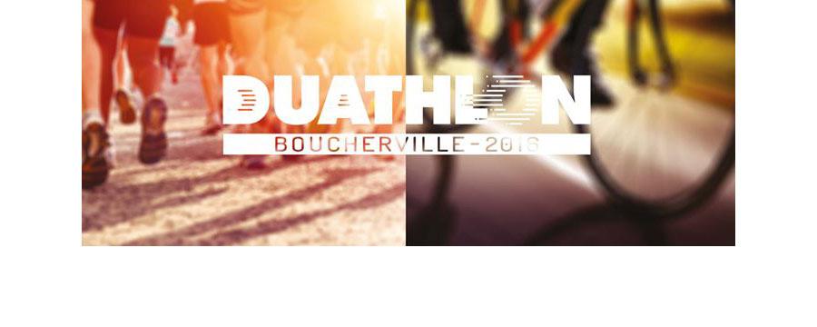 Gros succ s pour la 1 re dition du duathlon de for Club piscine boucherville
